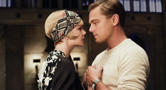 Leonardo and Carey Mulligan in The Great Gatsby