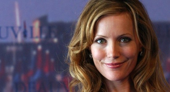 Leslie Mann at a photocall for one of her movies