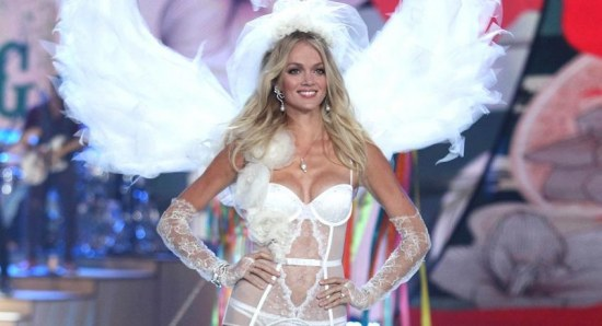 Lindsay Ellingson as Victoria's Secret Angel