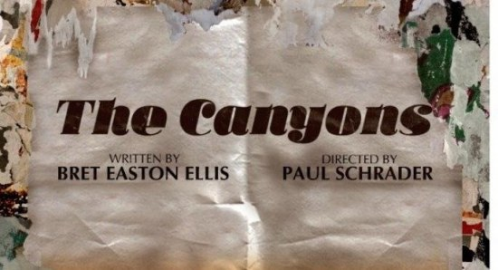 Poster for 'The Canyons'