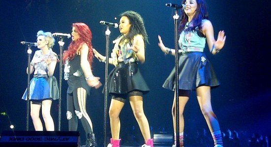 Little Mix performing live