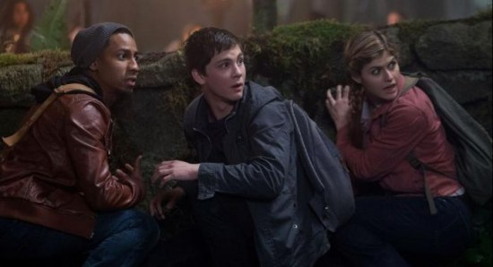 A still from Percy Jackson: Sea of Monsters
