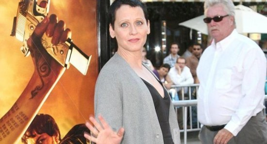 Lori Petty at the premiere of 'Wanted'