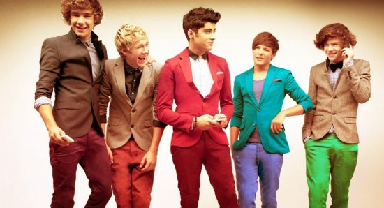 The One Direction boys as a five piece