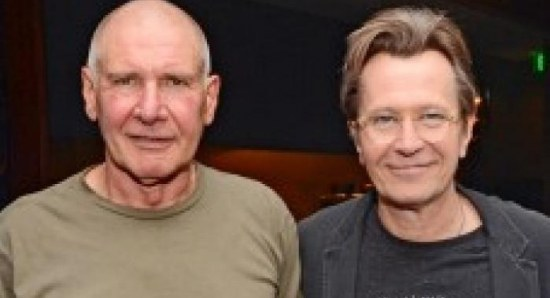 Gary Oldman and Harrison Ford