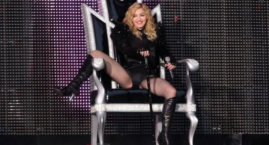 Madonna doing her thing