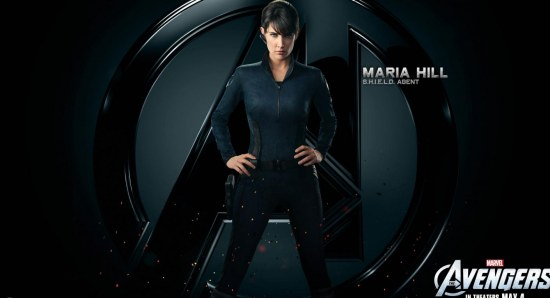 Cobie Smulders is back as Maria Hill