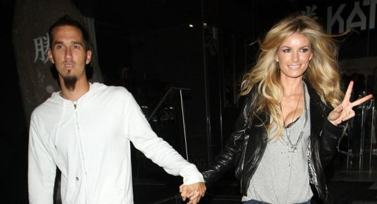 Marisa Miller with husband Griffin Guess