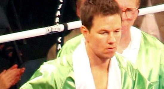 Mark Wahlberg filming 'The Fighter'