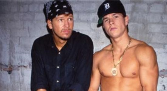 The Wahlberg brothers