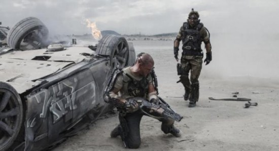 The new still from 'Elysium'
