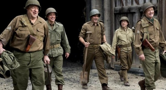Scene from The Monuments Men