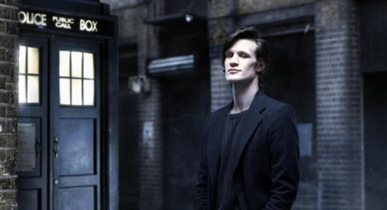 Matt Smith posing and looking handsome