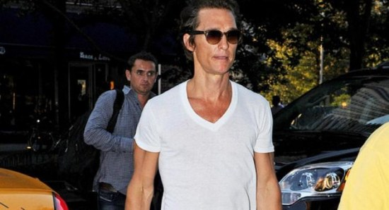 Matthew McConaughey after weight loss