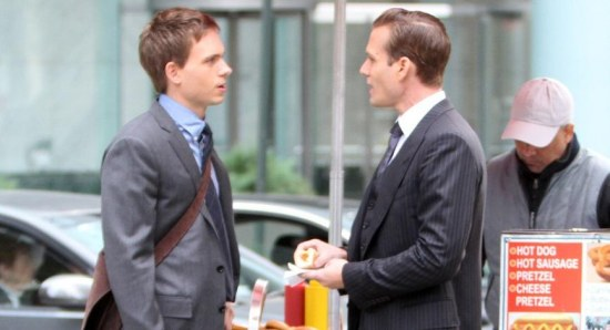 A scene from Suits