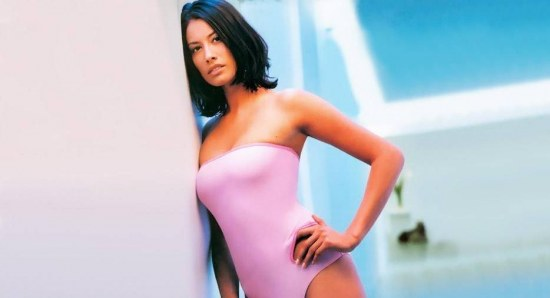 Melanie Sykes in her younger years