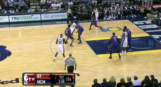 Memphis Grizzlies in action