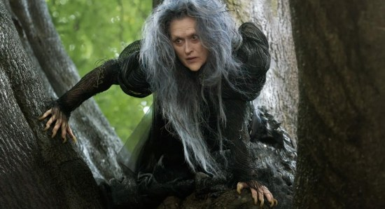 Meryl Streep stars in Into the Woods