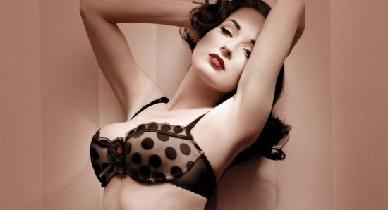 Dita Von Teese has also been there