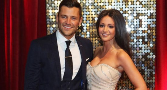 Michelle Keegan with Mark Wright