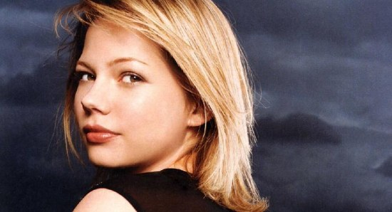 Michelle Williams when she was younger