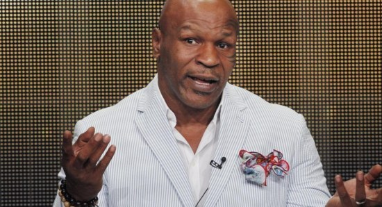 Mike Tyson has become a much better role model