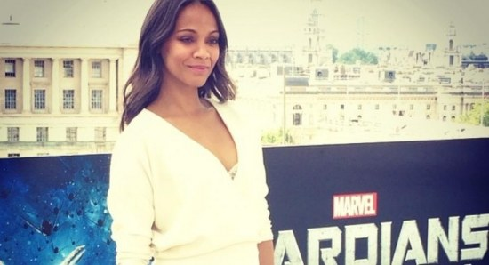 Zoe Saldana looking great