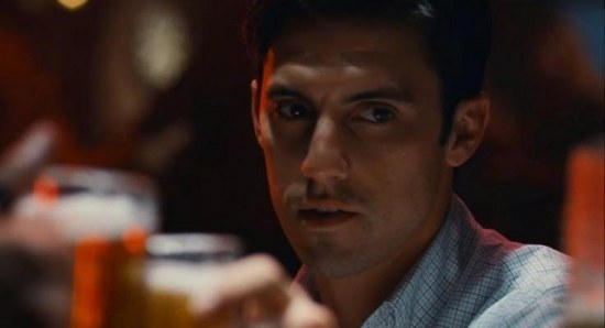 Milo Ventimiglia doing what he does best