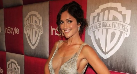 Minka Kelly looking gorgeous and sexy in dress
