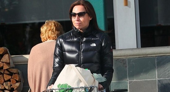 Minnie Driver is a busy lady