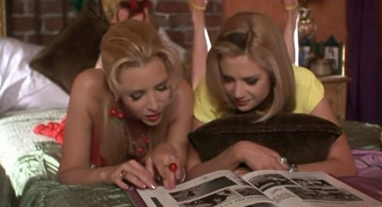 Scene from Romy and Michele's High School Reunion