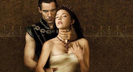 Natalie Dormer as Anne Boleyn in The Tudors