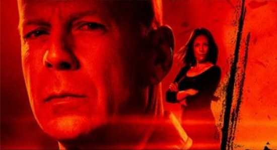 Bruce Willis in RED poster