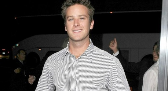 Armie Hammer plays The Lone Ranger