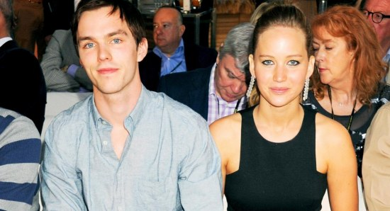 Nicholas Hoult and Jennifer Lawrence dated