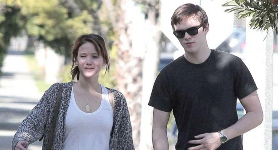 Jennifer previously dated Nicholas Hoult