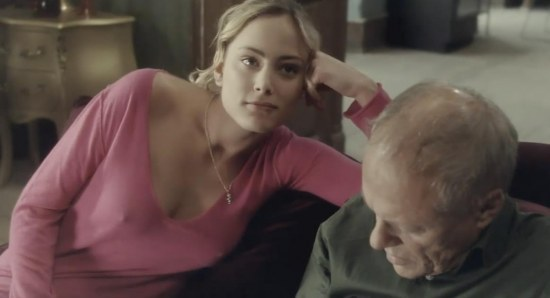 Nora Arnezeder doing her acting thing