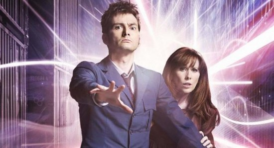 David Tennant in his Doctor Who days