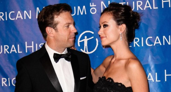 Olivia Wilde and Jason Sudeikis at red carpet event