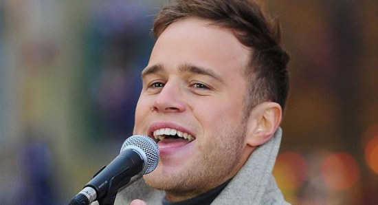 Olly Murs performing live