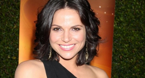 Lana Parrilla smiles for the camera