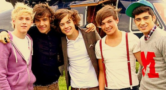 The One Direction boys