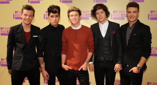 One Direction at Awards night