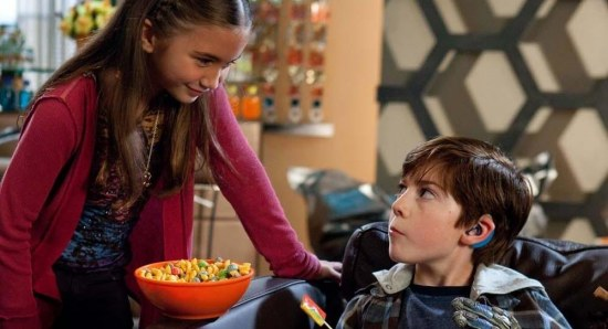 Mason Cook doing his acting thing