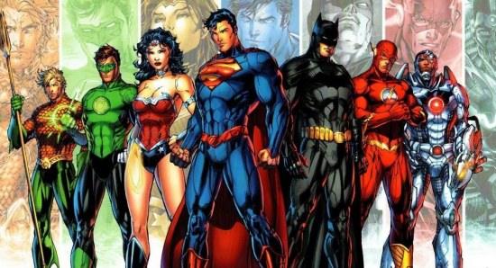 A Justice League film is on the way
