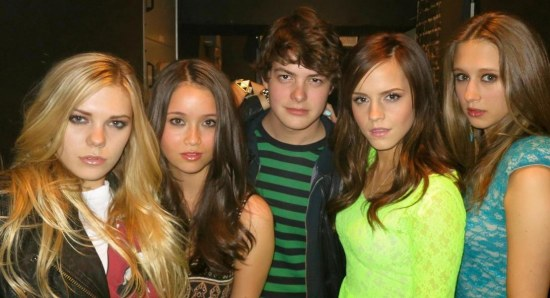 'The Bling Ring' cast poses for a photo