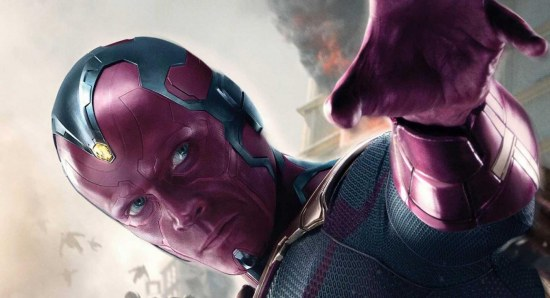 Paul Bettany plays Vision