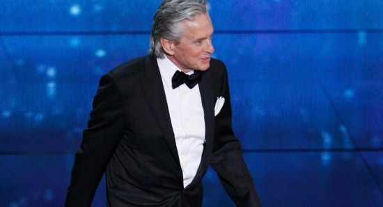 Michael Douglas is also in the film
