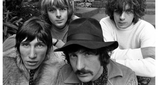 Pink Floyd pose for photo