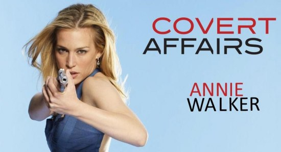Piper Perabo  plays Annie walker in covert affairs
